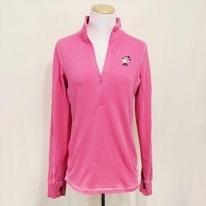 Tommy Bahama Disney Minnie Mouse track jacket pink